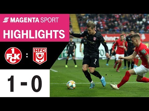 1. FC Kaiserslautern - Hallescher FC   Spieltag 18, 19/20   MAGENTA SPORT
