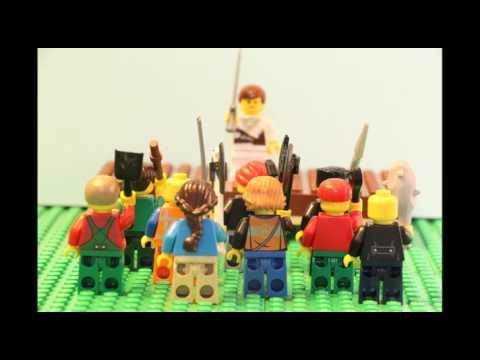 Lego Romulus and Remus Story
