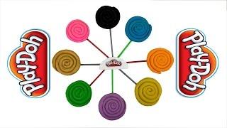 Lollipop Play-Doh Surprise Eggs Disney Frozen Flash Gordon Barbie Looney Tunes Thumbnail