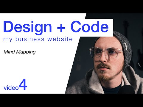Design + Code My Business Website - Mind Mapping