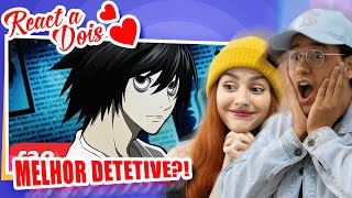 Vamos reagir ao 7 Minutoz com o Rap do L (Death Note) - O MAIOR DETETIVE #Drop777 Faça parte do Clã Silva: ...