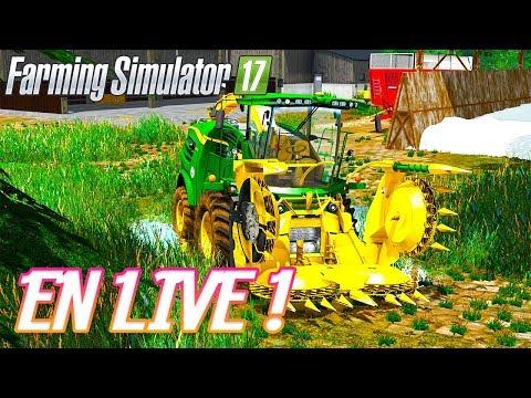 MULTIJOUEURS SUR LA VIEILLE FRANCE ! (FARMING SIMULATOR 17 LIVE)
