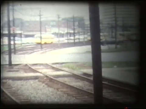 Shaker Heights Transit PCC trolleys, 1974