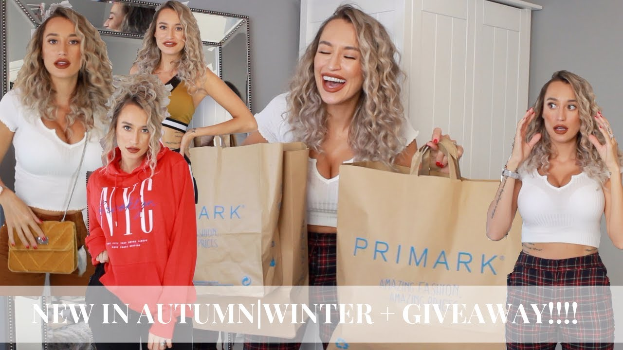 NEW IN PRIMARK HAUL + GIVEAWAY !!! AUTUMN | WINTER 2018 | OUTFIT STYLE TRY ON 7