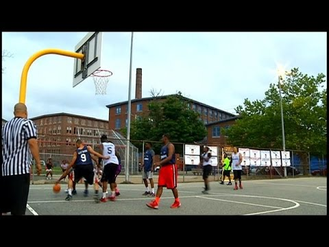 Providence scores with 'Midnight Basketball League'