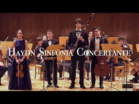HAYDN - Sinfonia Concertante for Violin, Oboe, Fagot, Cello and Orchestra