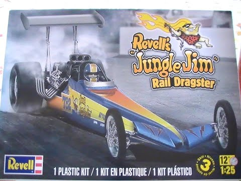2016 Boxstock Group Build Revell Jungle Jim Dragster Update #1