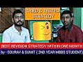 BEST REVISION STRATEGY BY MEDICAL STUDENTS FOR NEET 2019 WITHIN 1 MONTH