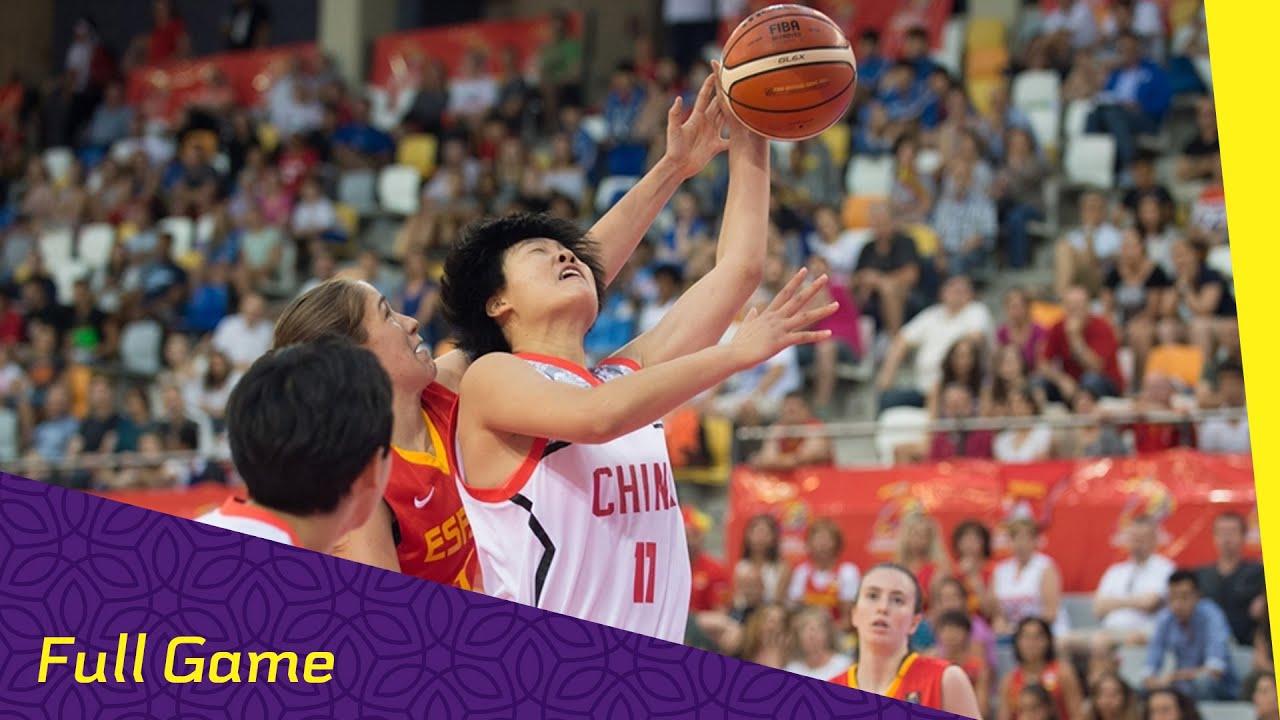 China v Spain - Quarter Final - Full Game - FIBA U17 Women s World  Championship 2016 1a6b2a8567
