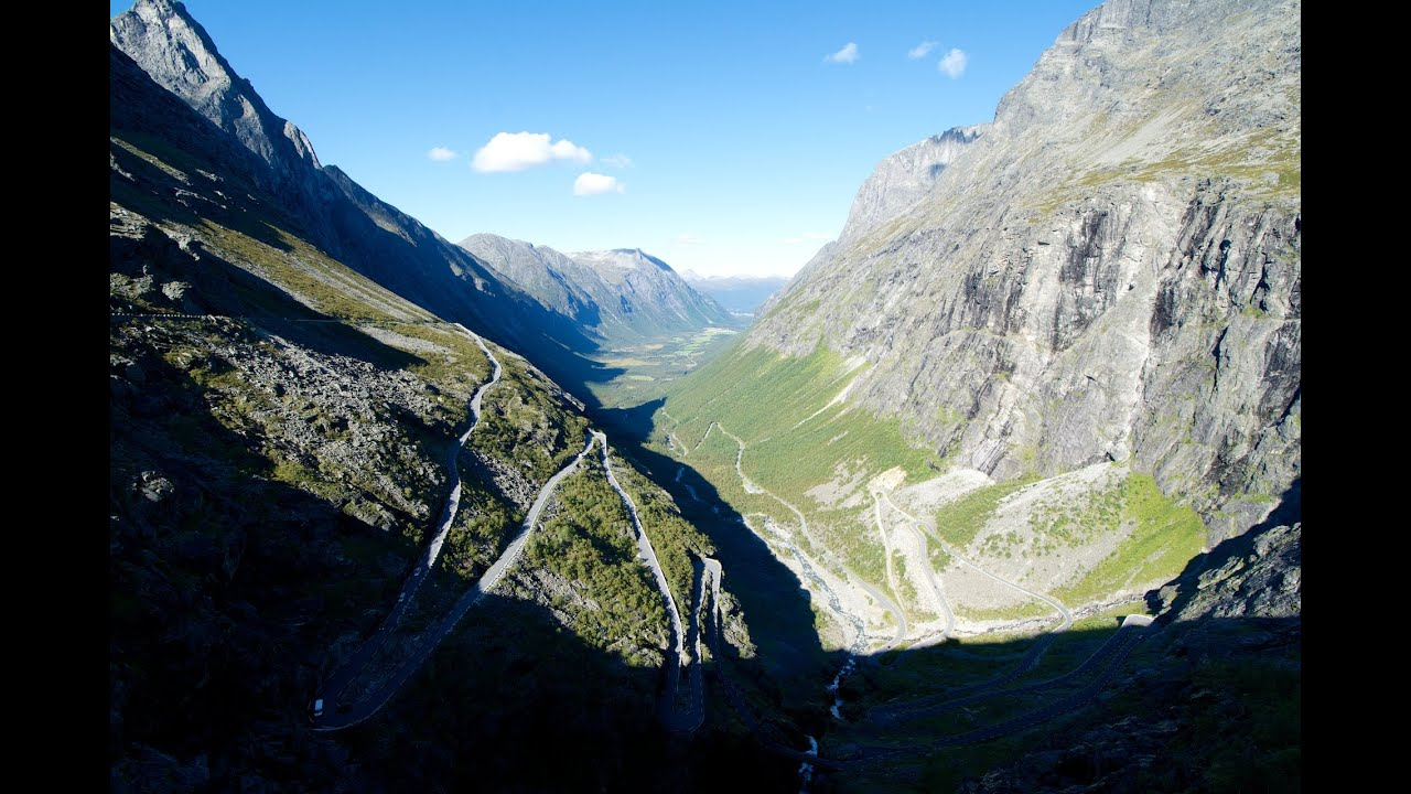 Trollstigen Norway On A Motorcycle Youtube