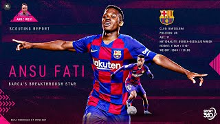 Spanish football expert andy west examines the awesome impact of barcelona teenager ansu fati this season and discusses why he will be so important when ...