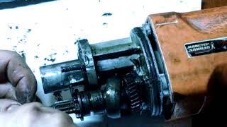 Ремонт перфоратора. не переключается в режим сверления Makita HR 2450 ( Мастер Данило П 26-8 Р)