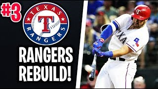 BUILDING TO CONTEND! Texas Rangers Rebuild! MLB The Show 18 Franchise