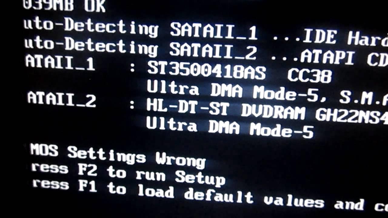 problemas con sataii 1 ide hard disk y sataii 2 atapi cdrom youtube