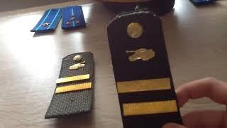 Обзор погон младшего сержанта танковых войск рф