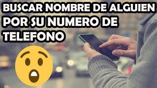 Buscar Persona Por Su Numero De Teléfono Desconocido Y Saber Nombre Completo Con True Caller App Youtube
