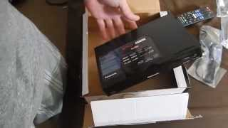 Unboxing The DMP-BD93PC-K Panasonic Smart Blu Ray Player