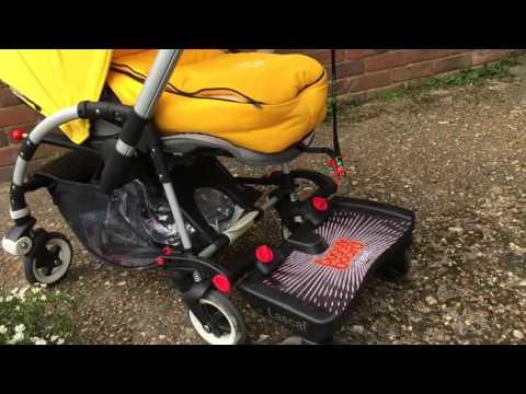 Bugaboo Bee 3 With Lascal Buggy Board Maxi