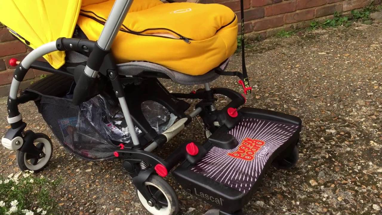 Bugaboo Bee 3 With Lascal Buggy Board Maxi