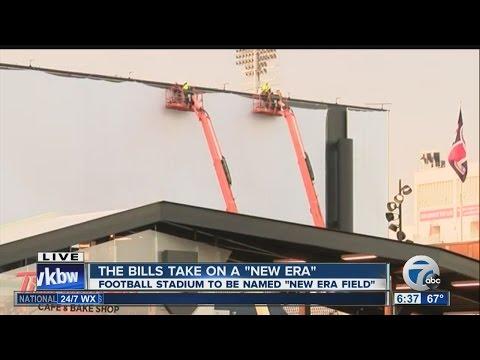 """Ralph Wilson Stadium to be named """"New Era Field"""" before Buffalo Bills opener"""