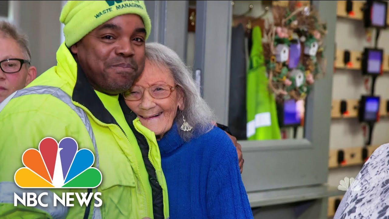 Download Meet The Everyday Heroes Behind Viral Good Deeds Caught On Camera   NBC Nightly News