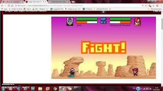 A Hacked Dbs Game!  Dragon Ball Devolution