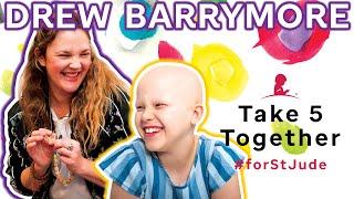 Drew Barrymore Delights St. Jude Mom & Daughter · Take 5 Together