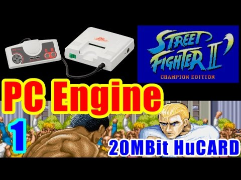 [1/3] ガイル(Guile) - STREET FIGHTER II DASH(PC-Engine)