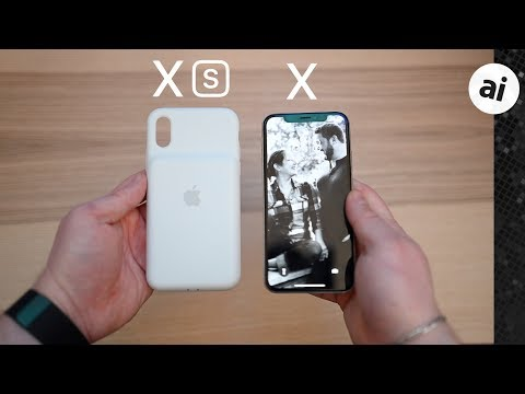 Tested: Using The IPhone XS Smart Battery Case With IPhone X
