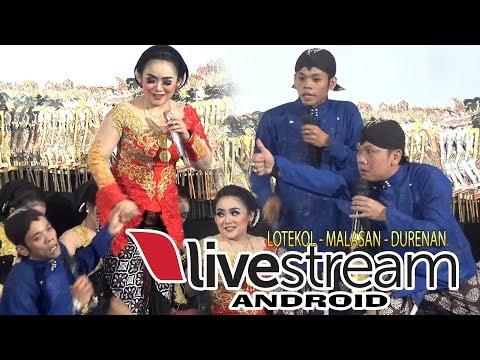 Live Streaming dari HP Percil Pak Eko Lotekol Malasan Durenan 11-12-17