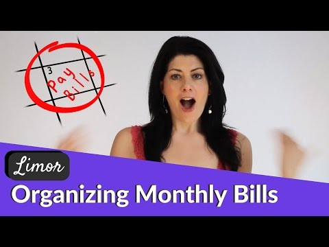 ORGANIZING YOUR ONLINE BILL PAYMENTS  | Financially Fabulous