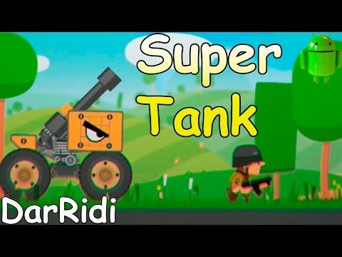 Собери свой танк в игре SuperTank
