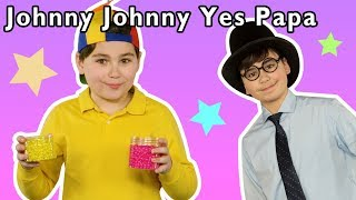 Johnny Johnny Yes Papa + More | Mother Goose Club Playhouse Songs & Rhymes