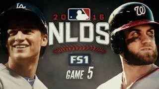 October 13, 2016-Washington Nationals vs. Los Angeles Dogers {NLDS G5}