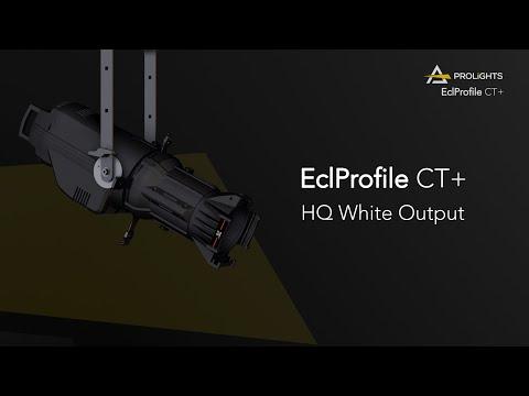 PROLIGHTS Ecl ProfileCT+: HQ White Output