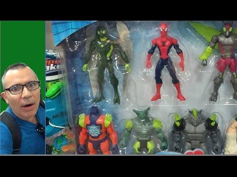 Homem Aranha Spider-Man X Sexteto Sinistro Besouro  Abutre Arnin Zola  Duende Rhino Homem Areia