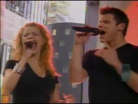 Jessica Simpson & Nick Lachey - Where You Are - LIVE on MTV's TRL - 1999/2000
