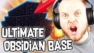 THE ULTIMATE OBSIDIAN BASE in BEDWARS!! W/AshDubh