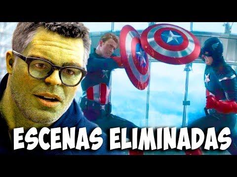 Escenas Eliminadas de Avengers Endgame -2