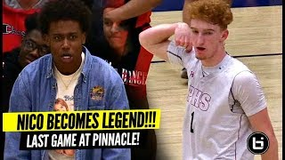 Nico Mannion Becomes LEGEND In Final Home Game & Advances To The SHIP! HUGE 35 Point Game!