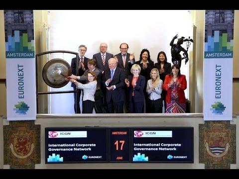 International Corporate Governance Network bezoekt Euronext Amsterdam