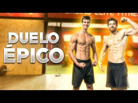 Duelo Épico de Crossfit 💪Pedro Vivar VS Miguel Camarena 🔥Crossfitter VS Atleta 🔥Competición