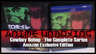 Anime Unboxing | Cowboy Bebop Complete Series - Amazon Exclusive Edition (DVD/Blu-ray Combo)