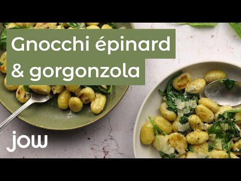 recette-des-gnocchi-gorgonzola-épinard