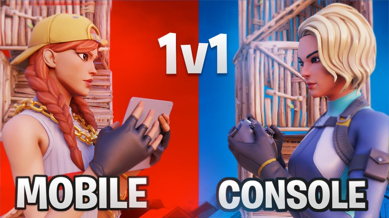 1v1ing the BEST console player