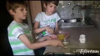 Рецепт вкуснейшего омлета. Дети готовят сами, без помощи взрослых