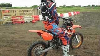 Bonville Farm on a Ktm 85 small wheel