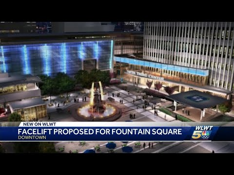 Cincinnati's Fountain Square may get new look with permanent stage