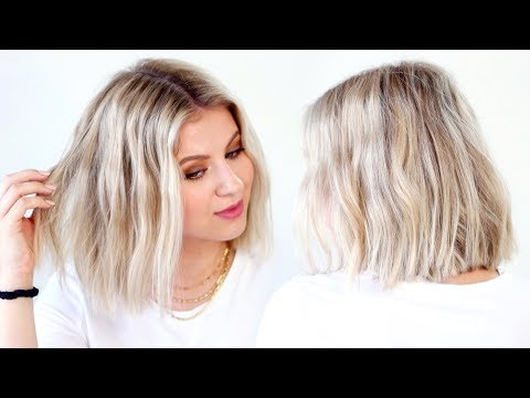 5-minute-flat-iron-waves-for-short-hair
