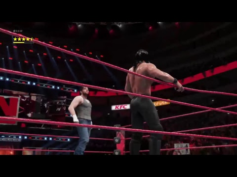 Lets play:WWE 2k18 universe mode